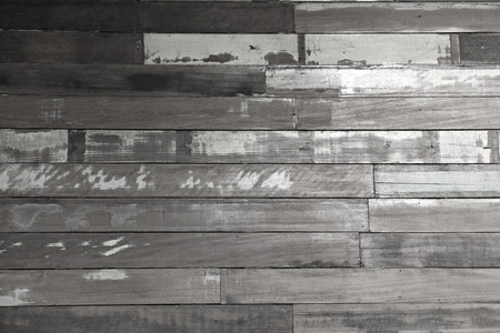 Old wood background of black and white color. photo