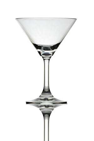 luxury glass isolated on a white background. photo