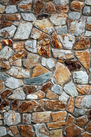 stone wall that looked old for background.