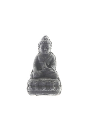 cheapness: Buddha statue of local amulets in Thailand. Stock Photo