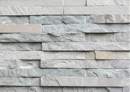 slab of gray stone arranged style in interior for background. Stock Photo