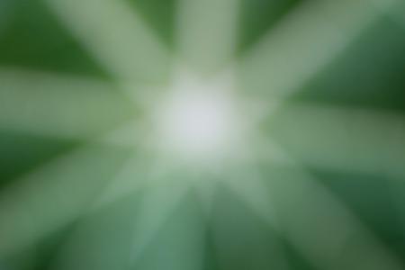 raggio: Raggio di luce di colore bianco su sfondo verde. Archivio Fotografico