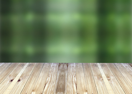 broad: Broad planks and green blur background for design.