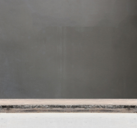 pathways: Backdrop of a gray cement wall and pathways for design.