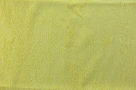 microfiber cloth: Yellow color Texture of microfiber Cloth for the design background.