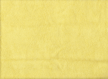 microfiber cloth: Texture of yellow microfiber cloth for design background. Stock Photo