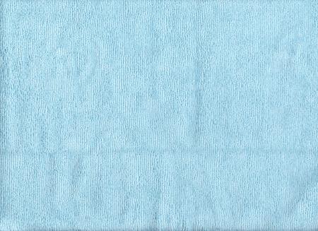 microfiber cloth: Texture of blue microfiber cloth for design background.