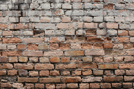 corrosive: Texture brick wall is weathered and have corrosive for the background design.