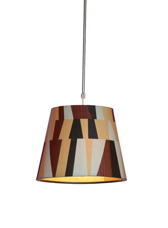 interior lighting: Modern Lighting of interior decoration isolated on white background and have clipping paths.