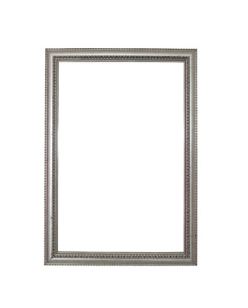 objects with clipping paths: Vintage of old picture frame isolated on white background and have clipping paths.