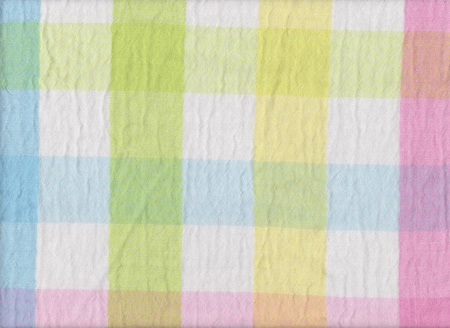 scots: Bright colors of scots pattern fabric texture for design abstract background.