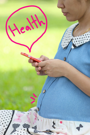 find out: Pregnant women are using smartphones to find out about the babys health.