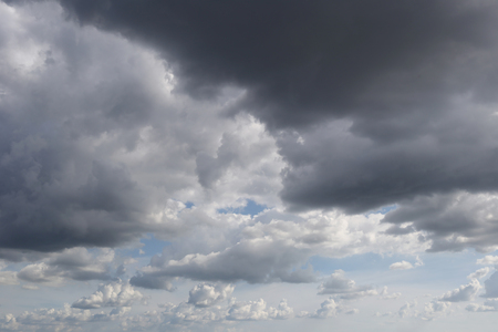 nimbus: Overcast sky of rain clouds forming in the sky in concept of climate,Poor weather in the daytime.