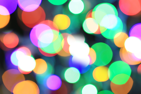 abstract colorful bokeh background for the design backdrop in your art work. 免版税图像
