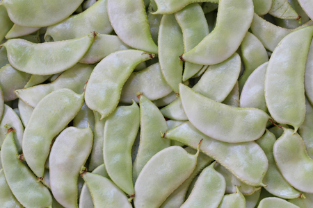 Dolichos lablab or Leguminosae background of Legumes This is a tropical vegetables in thailand.