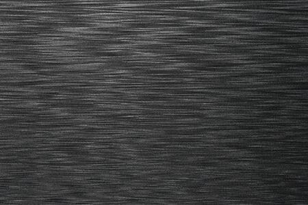 Black plastic with patterns and textures for design in your work concept. Stock Photo