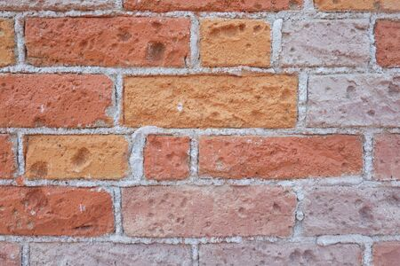 Surface of Vintage brick wall background for design in your work Texture backdrop concept. 版權商用圖片