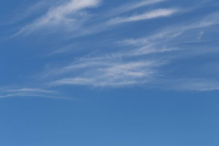 Blue Sky is bright in the daytime and have white clouds for design background in your work concept.