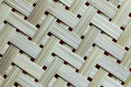 Texture of Bamboo weave basket background for design in your work backdrop. Stock fotó