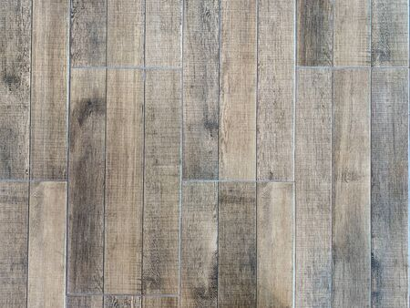 Piso de madera vintage de fondo de tablón para el diseño en su concepto de telón de fondo de trabajo.