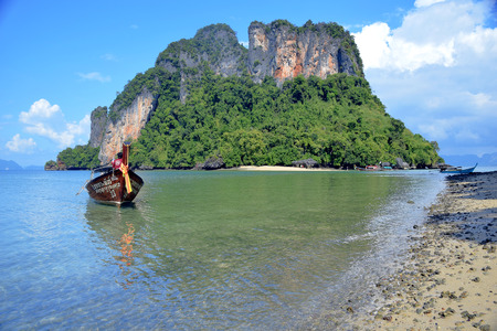 Pak Bia Island, Thailand