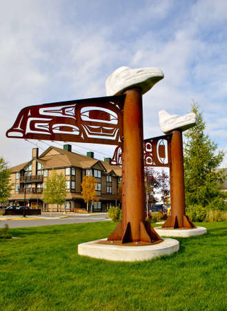 whitehorse: First Nation Totem
