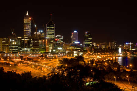 Perth Nightscape photo