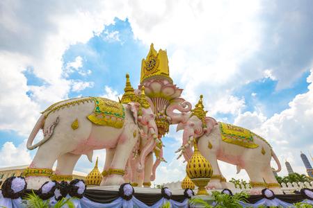 Three Elephant statue at Bangkok Thailand