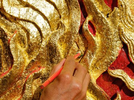 gilded: Gilded crafts Luang Prabang
