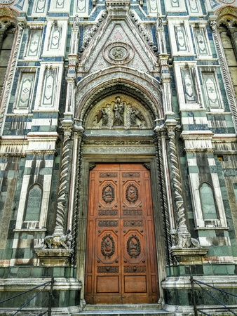 The Santa Maria del Fiore is the main church of Florence, Italy.