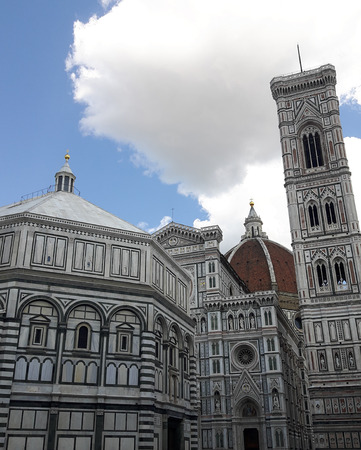 The famous Duomo Cathedral in Florence, Italy