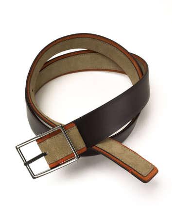 ? Les hommes de ceinture de Brown Banque d'images - 12417426