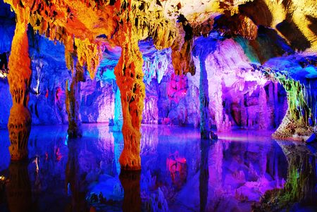 Water eroded Reed Flute Cave