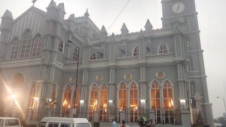 A cathedral church, Lagos Nigeria