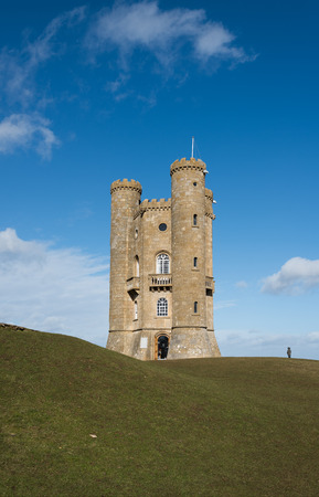 broadway tower: Broadway Tower Cotswolds on a sunny day