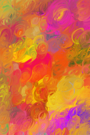 twisting: Original abstract multicoloured background of twisting smutches Stock Photo