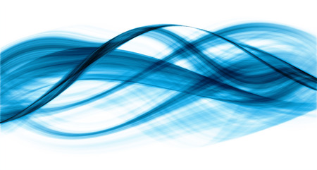 original: Original abstraction of blue-coloured curves on white