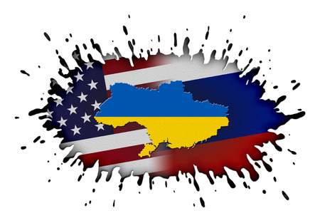 dissension: Concept of Ukraine crisis (Russia and USA opposition)