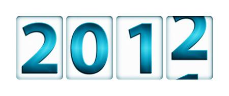 cronologia: El cambio anual de 2011 a 2012 (año nuevo concepto)
