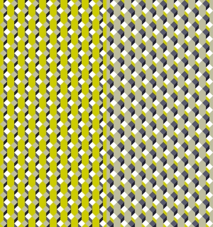 Geometric seamless pattern with color variations