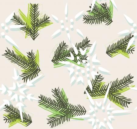 Christmas decorative seamless pattern. EPS 10 vector Illustration