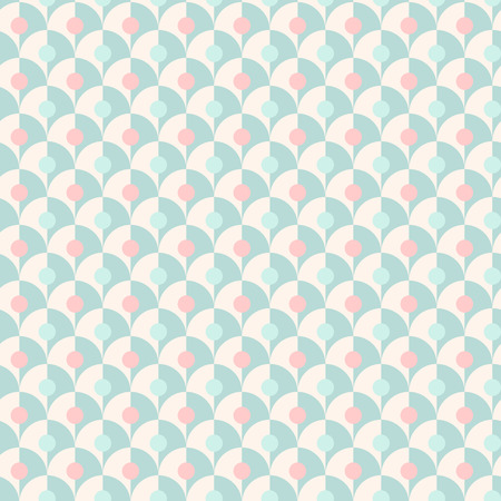 Seamless simple retro geometrical pattern of classic style