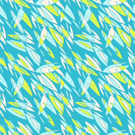 Geometric abstract shapes floral motif background
