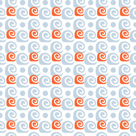 Geometric abstract seamless pattern motif background  Colorful shapes composition