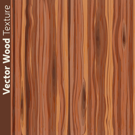 Wood grain textured background pattern. Vector illustration