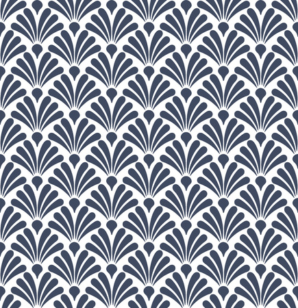 Geometric abstract seamless pattern motif background Illustration