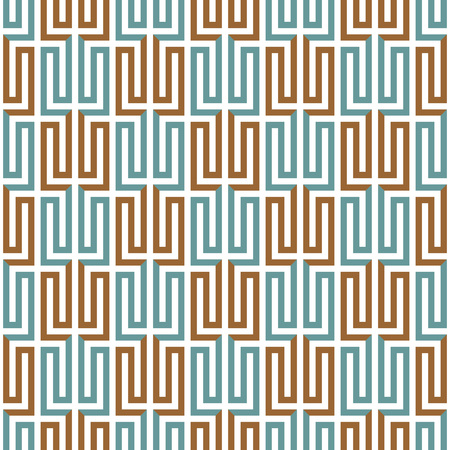 Geometric abstract seamless pattern. Linear motif background and decoration design