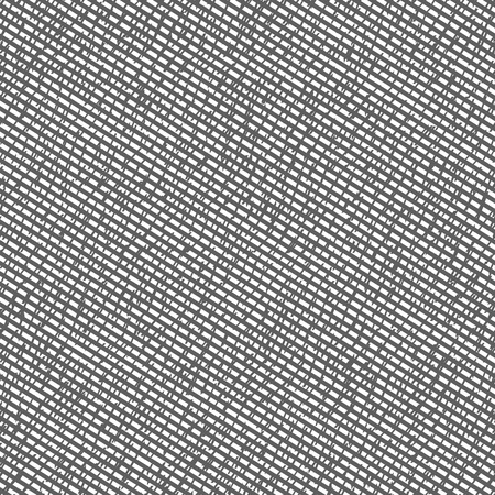 Abstract seamless pattern. Grunge texture background of random scratched stripes and geometric shapes