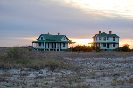 Florida, Fort Pickens, Pensacola, sea grass, sea oats, Sunset, old farm house, plantation home, beach