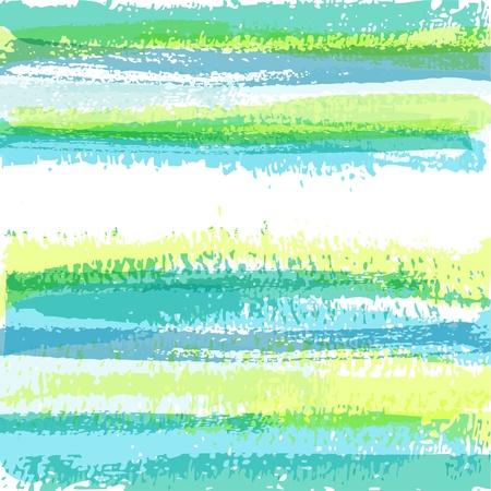 abstracta: Fondo de pincel rayas abstracta. EPS10 Vectores